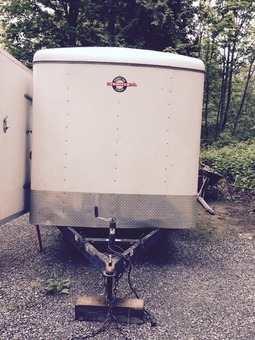 14 ft enclosed utility trailer