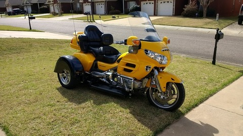 Goldwing with Trike