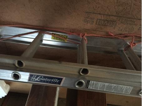 Louisville 20ft extension ladder Mint